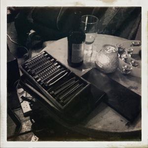 Ray Wallen's harmonicas