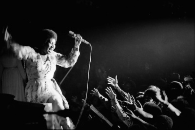 Aretha Franklin by Jim Marshall