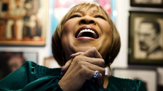 Mavis Staples happy music