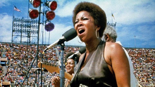 Mavis Staples at Woodstock