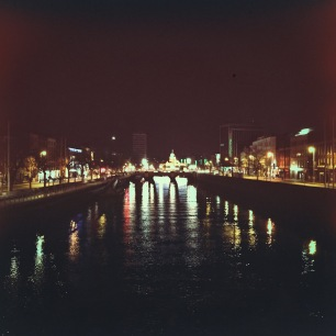 Dublin from the Ha'Penny Bridge
