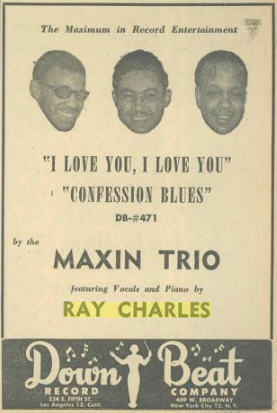 Ray Charles - Confession Blues - advertisement