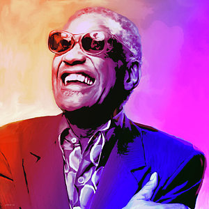 Ray Charles by Greg Joens