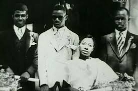 Ray Charles and mother