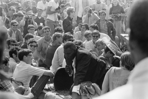 Howlin Wolf at Newport Festival