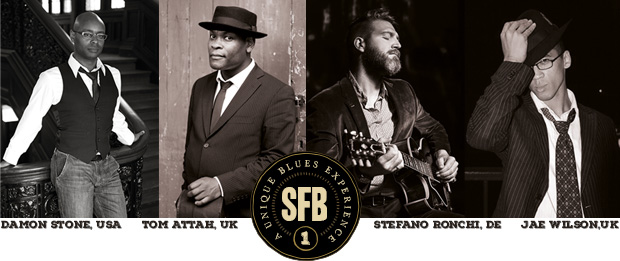 Logo and featured artists at SFB 2019